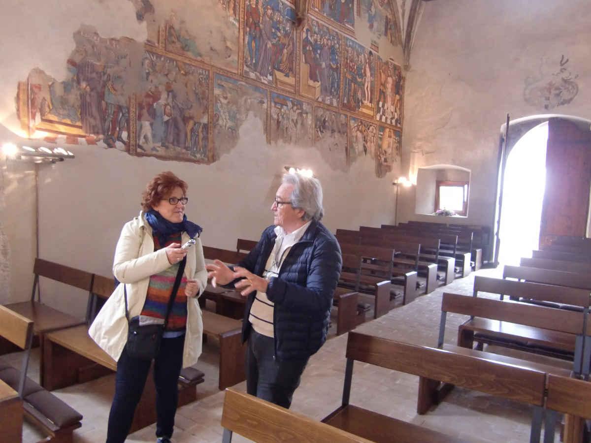Chiesa San Pietro in Cembra (Val di Cembra) con Alfonso Lettieri e Katrin Walter