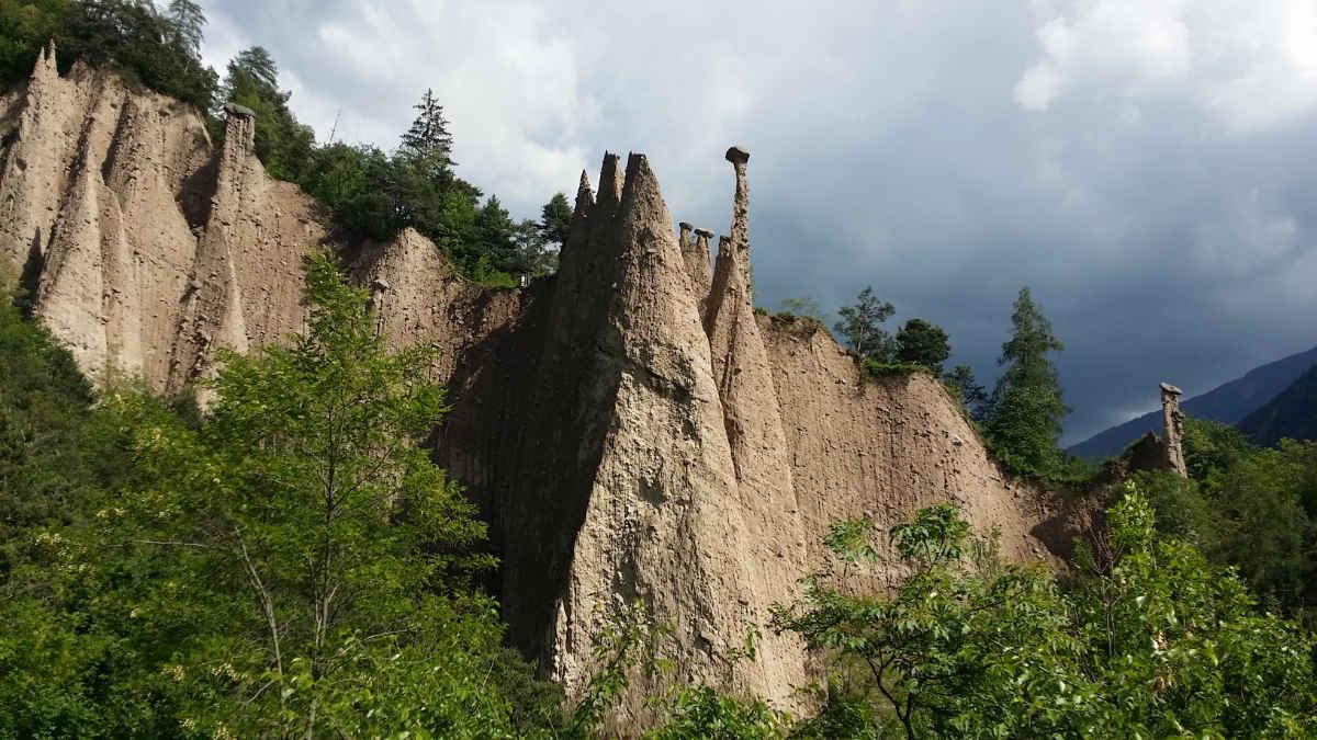 Le Piramidi di Segonzano in Val di Cembra. Foto: Katrin Walter – simply walter