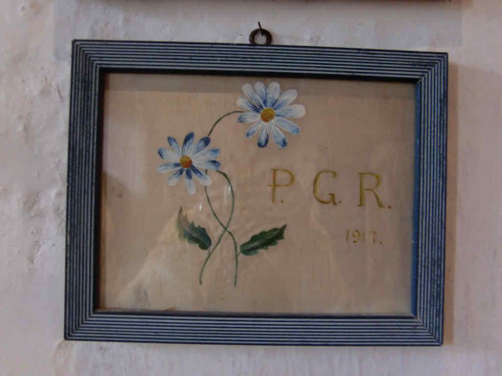 Ringraziamento del 1917 Per Grazia Ricevuta nella chiesetta di San Leonardo di Lisignago, Val di Cembra. Foto: Katrin Walter – simply walter