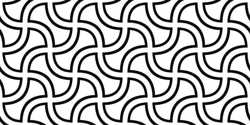 Grafica in bianco e nero come un immagini ambigua. Rappresenta il cambio di prospettiva di cui hai bisogno se vuoi metterti nei panni dei tuoi clienti, ad esempio per un buon web design. Intervista da Katrin Walter – simply walter
